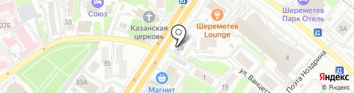 Спортикс на карте Иваново