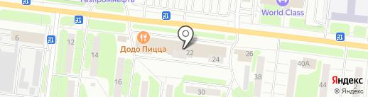 Легкоступ на карте Иваново