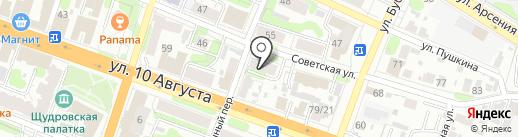 Всероссийское общество инвалидов на карте Иваново