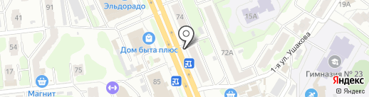 Киоск по продаже печатной продукции на карте Иваново
