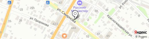 Август на карте Иваново