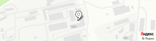 Азурит на карте Костромы