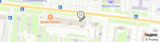Пенный капитан на карте Иваново