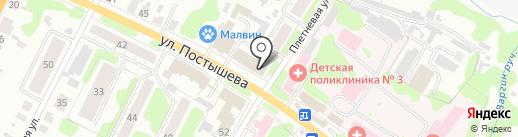 Текстиль-Маркет на карте Иваново