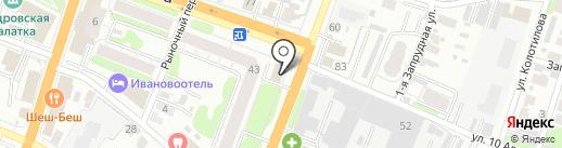 Дэлфи на карте Иваново