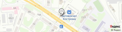 С пылу с жару на карте Костромы
