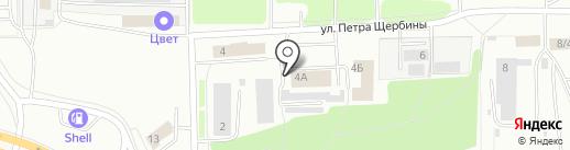 ГРАНДЭНЕРГО на карте Костромы
