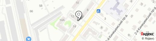 Дом Декора на карте Костромы