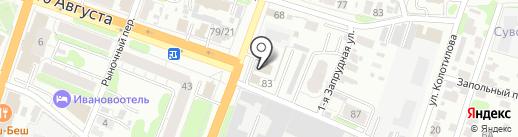 Электролайн на карте Иваново