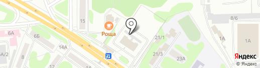 Автовокзал на карте Костромы