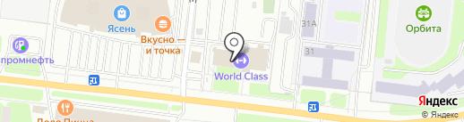 Мастер отдыха на карте Иваново