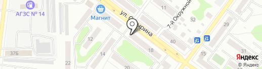 Почтовое отделение №14 на карте Костромы