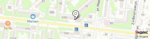 Ателье на проспекте Текстильщиков на карте Иваново