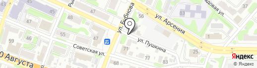 Мастерская по ремонту обуви на карте Иваново