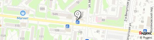 Маргаритка на карте Иваново
