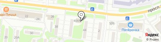 Мастерская по изготовлению ключей на проспекте Строителей на карте Иваново