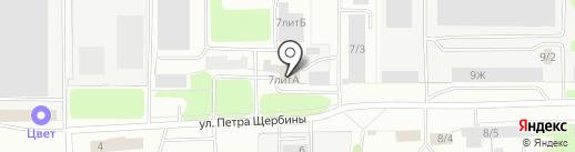Миллениум на карте Костромы