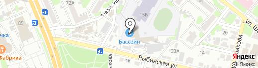 ДЮСШ №10 на карте Иваново