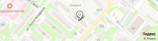 ИНТЕРСТРОЙ на карте Иваново