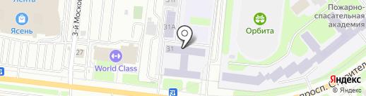 Ивановский стрелково-спортивный клуб на карте Иваново