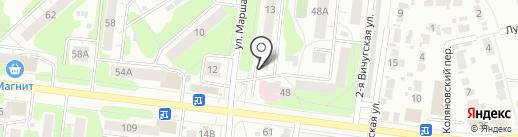 Самобранка на карте Иваново