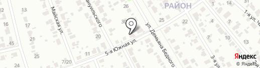 Путь преодоления на карте Иваново