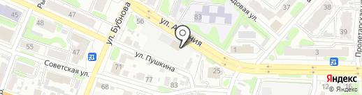 Арта на карте Иваново