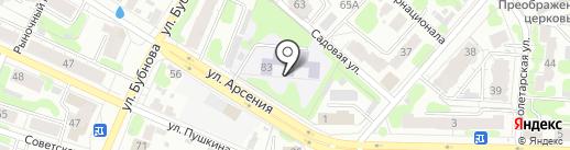 Лицей №21 на карте Иваново