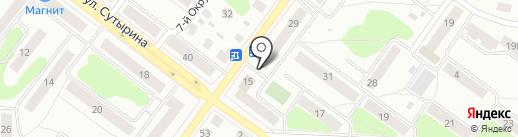 Капелька на карте Костромы