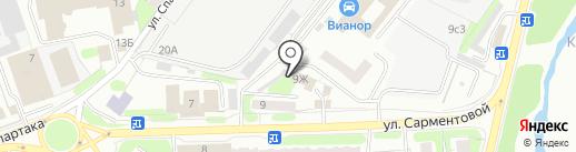 Люкс на карте Иваново