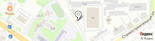 ПАТП №2 на карте Костромы