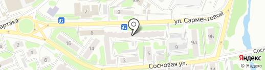 ТД Альфа ТЕХНО на карте Иваново
