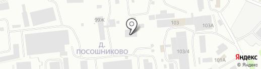 Технолюкс-К на карте Костромы