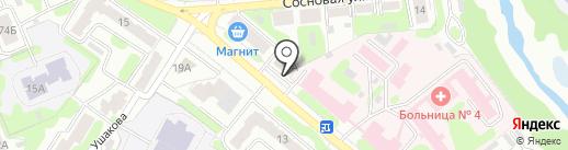 1X BET на карте Иваново