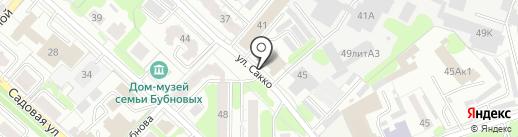 Бармалей на карте Иваново