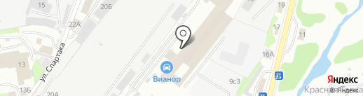 Завод теплиц и металлоконструкций на карте Иваново