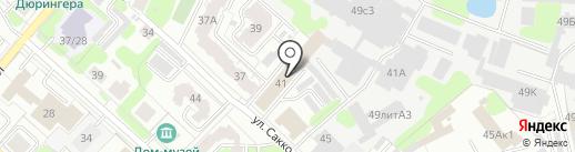 Алангро на карте Иваново