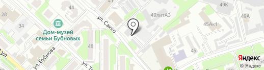 Звёздная на карте Иваново