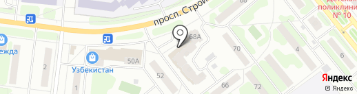 Троя на карте Иваново