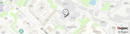 Юридическо-бухгалтерская компания на карте Иваново