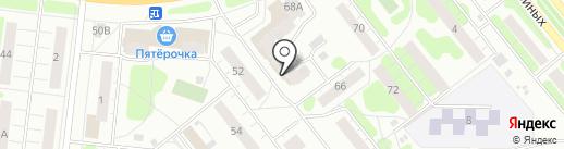 Жар Печь на карте Иваново