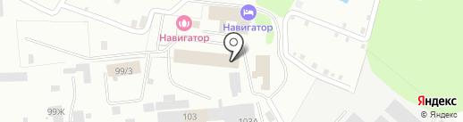 Отдельный пост пожарной части №1 на карте Костромы