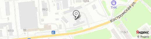 Dymohodik.ru на карте Костромы