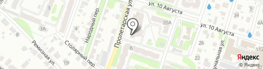 Мюнхен на карте Иваново