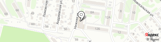 СДЮСТШ на карте Иваново