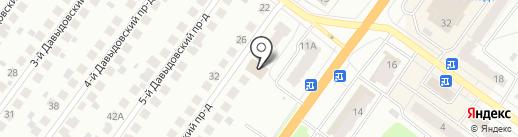 Эдельвейс на карте Костромы