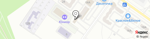 Автомойка на карте Костромы