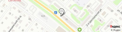 Почтовое отделение №19 на карте Костромы
