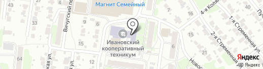 Продуктовый магазин №8 на карте Иваново