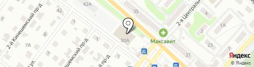 Парад шаров на карте Костромы
